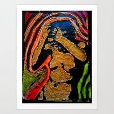 ****AGONY**** Art Print