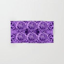 Purple Swirl Topography Hand & Bath Towel