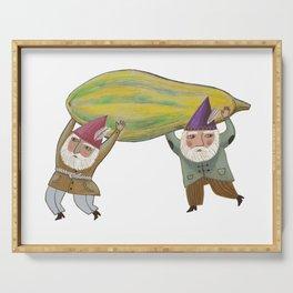 Squash Gnomes Serving Tray