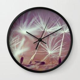 Beautiful Seeds Wall Clock