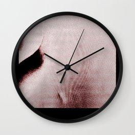the president set his head on fire Wall Clock