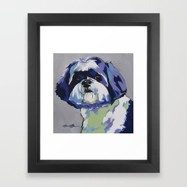 Ringo the Shih Tzu Framed Art Print