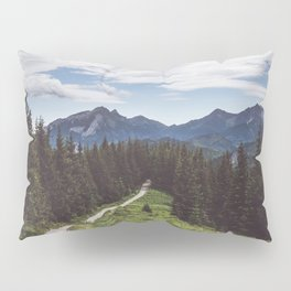 Greetings from the trail - Landscape and Nature Photography Pillow Sham