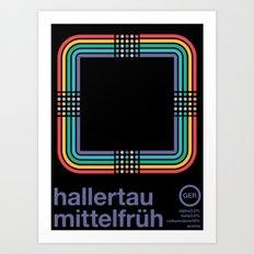 hallertau mittelfruh noble hop Art Print