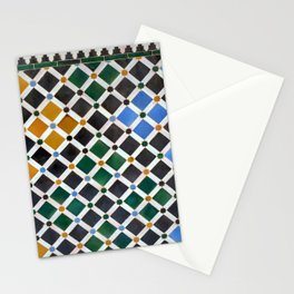 Alhambra Tiles Stationery Cards