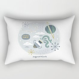 Aquarius Air Rectangular Pillow