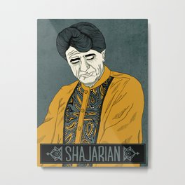 Shajarian Poster Metal Print