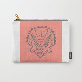 Asteroid Anxiety - Triceratops Carry-All Pouch