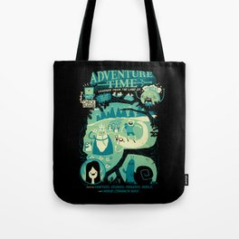 Legends from the Land of Ooo Tote Bag