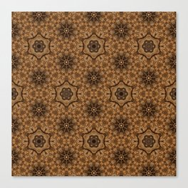 Sequential Baseline Pattern 18 Canvas Print