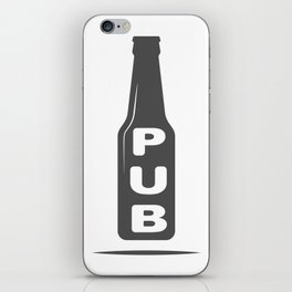 Pub Beer Brewery Handcrafted style Fashion Modern Design Print! iPhone Skin