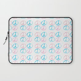 Peace and love-anti-war,pacifist, pacifism,hippies,paz,love,heart, Laptop Sleeve