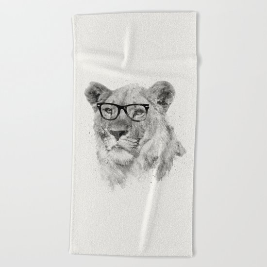Wild Hipster Beach Towel