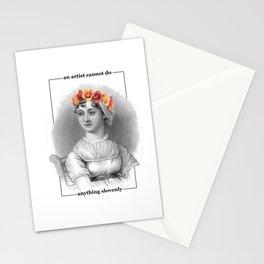 Jane Austen Quote Art Stationery Cards