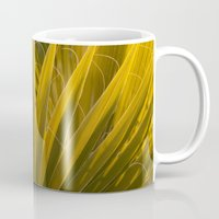 palm Mugs featuring Palm by Moonworkshop