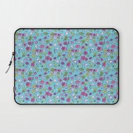 Flowers, Clovers & Diamonds Laptop Sleeve