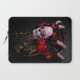 Midnight Muertita Harvest Laptop Sleeve