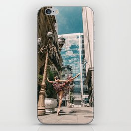 Photography « Dancer on the street » iPhone Skin