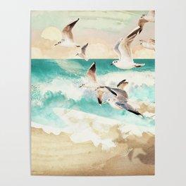 Summer Flight Poster