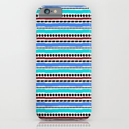 Lines and Dots 2 iPhone Case