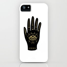Evil Eye Hand iPhone Case