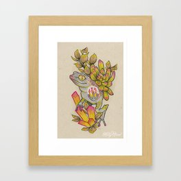 The Frog King Framed Art Print