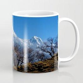 Panoramic View Of Annapurna Ghorepani Poon Hill Coffee Mug
