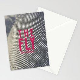 The Fly, horror movie poster, David Cronenberg, Jeff Goldblum, alternative playbill Stationery Cards
