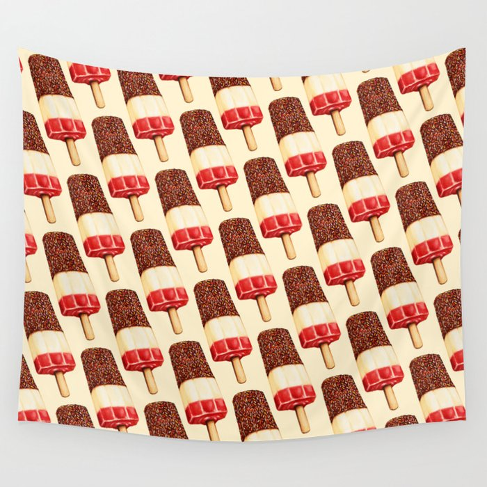 Ice Lolly Pattern - Fab Wall Tapestry