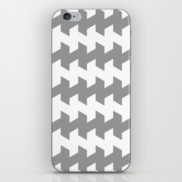 jaggered and staggered in alloy iPhone Skin