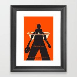 the good son. Framed Art Print