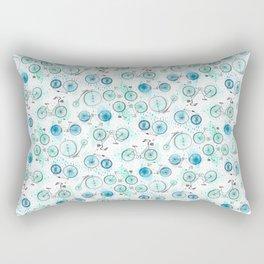 Bikes Pattern Rectangular Pillow