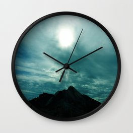 Other Worldly Sky Wall Clock
