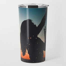 Reaching out Travel Mug