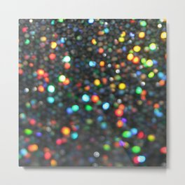 Sparkles: Paint Daubs Metal Print