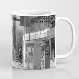 Downtown Calgary at lunch time Coffee Mug