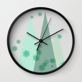 Peace on Earth Artwork Wall Clock