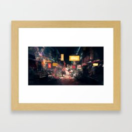 The Closing Hours Framed Art Print