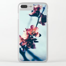 Spring Blossom Clear iPhone Case