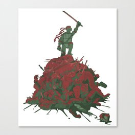 Never Forget That They Were Ninja Canvas Print
