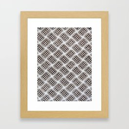 Diamond Plate 1 Framed Art Print