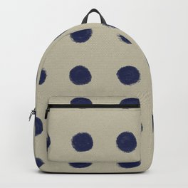 HAND-DRAWN BLUE CIRCLES Backpack