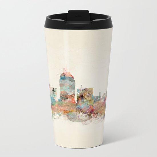 fresno california Metal Travel Mug