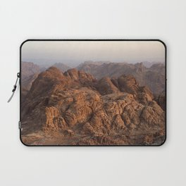 The view from Moses mountain. Sinai. Laptop Sleeve