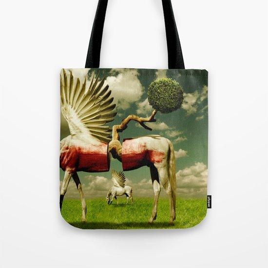 Pegasus Divided Tote Bag