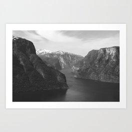Norwegian Nature Art Print