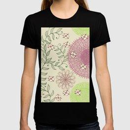Hand Drawn Mandala Pattern 04 T-shirt