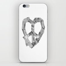 Peace Heart iPhone & iPod Skin