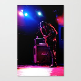 Guitar Wolf/Tuning Up Canvas Print