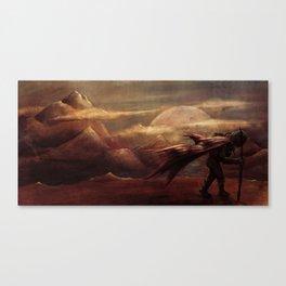 Exploration for Survival Canvas Print